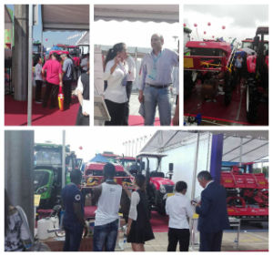 Aidi Brand 4WD Hst Self-Propelled Fog Boom Sprayer for Muddy Field and Farm pictures & photos