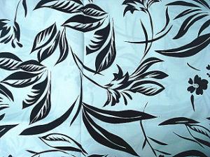 Printing Silk Linen Brocade Satin Fabric pictures & photos