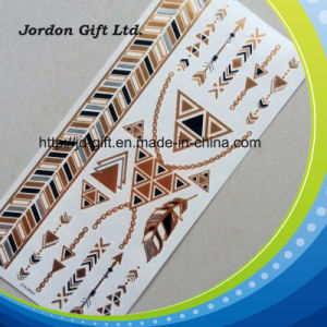 OEM Fashionable Jewelry Style Metallic Tattoo Sticker pictures & photos