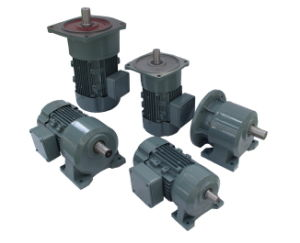 Foot Mounted Geared Motor with Input Adapter pictures & photos