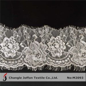 White Eyelash Lace for Dress Material (M2093) pictures & photos