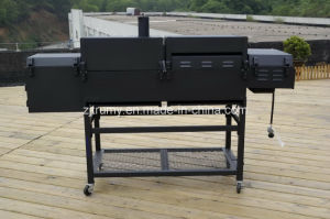 New Design Charcoal and Gas Grill Combo pictures & photos