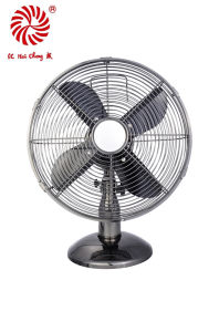 """12"""" Electric Table Fan for Desk with Aluminum Blades"""