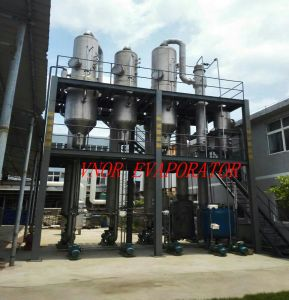 Triple Effect Forced Circulation Evaporator with Pre-Treatment System