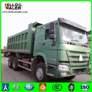 HOWO 30ton 6X4 25m3 Heavy Duty Diesel Lorry Dump Truck pictures & photos