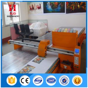 Flatbed Plate Type Textile Digital Printer pictures & photos