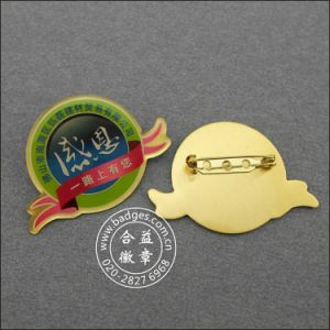 Organizational Badge, Custom Epoxy-Dripping Metal Lapel Pin (GZHY-LP-022) pictures & photos