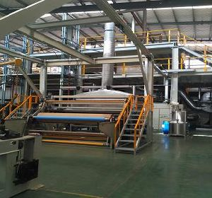 2400mm SMMS Non Woven Fabric Production Line pictures & photos