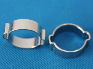Stainless Steel Stamping Pipe Clamp for Bike Part pictures & photos