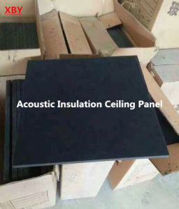 Black Ceiling Sound Absorption Board Theater Use pictures & photos