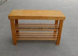 Solid Wood Shoe Rack Cabinet with High Quality (M-X3056) pictures & photos
