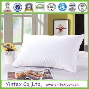 100% Cotton Cover White Goose Down Pillow for Five-Star Hotels pictures & photos