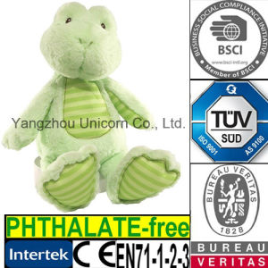 CE Stuffed Animal Plush Toy Frog Baby Soothe Appease Toy