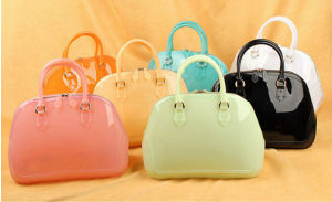 Yiwu Supplier Designer Eco-Friendly Jelly Candy Hand Bag pictures & photos