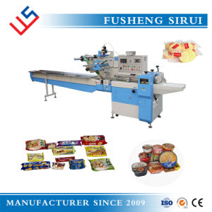 Horizontal Flow Wrapper Machine for Foods pictures & photos
