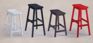 American Style Wolid Wood Bar Stool Hot Selling Stool (M-X1111) pictures & photos