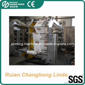 CH 6 Colour Plastic Film Flexographic Printing Machine pictures & photos