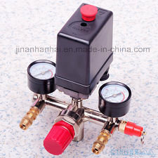 Air Compressor Parts Pressure Regulator Switch Holder Manifold pictures & photos