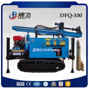 Cheap Dfq-100 Air Compressor Water Well Drilling Rig Machine for Sale pictures & photos