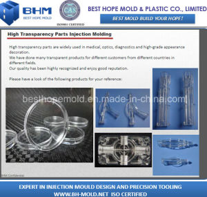 Plastic Clear Part Moulding (Plastic Molding) pictures & photos