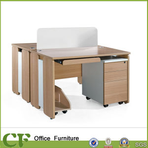 2 Seaters Double PC Desk for Study at Home pictures & photos