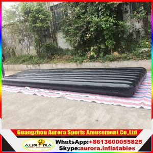 Outdoor Inflatable Tumbling Air Gym Mat Inflatable Air Track with Size 7X2m