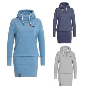 Wholesale Winter Cotton Women Hoody / Tracksuit with Hood pictures & photos
