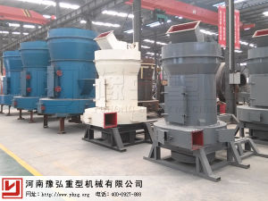 Powder Grinding Machine Yuhong Raymond Mill for Final Product Size 0.125-0.044mm pictures & photos