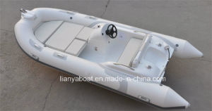 Liya 4.3m CE Approved Cheap Rib Inflatable Boat with High Quality pictures & photos