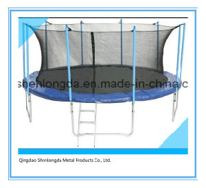 15FT Round Yard Trampoline with Inner Safety Net pictures & photos