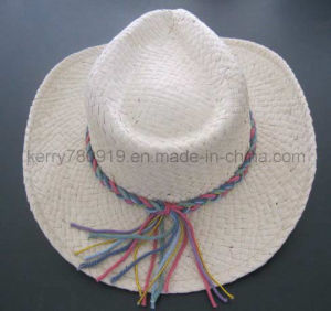Promotion Straw Boater Hat Custom Straw Hat Wholesale (DH-LH9126) pictures & photos