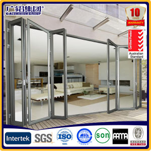 Aluminium Folding Door Aluminium Folding Casement Door Nana Door pictures & photos