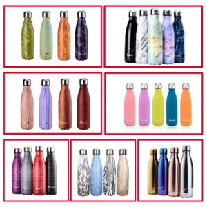 500ml Stainless Steel Sports Travel Water Bottle (SH-ST17) pictures & photos