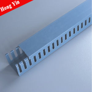 40*40mm Cabling Routing Cable Trunking pictures & photos
