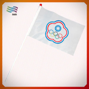 Hand Waving Flag with Custom Logo pictures & photos