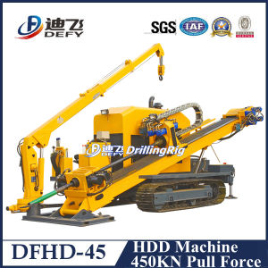 Dfhd-45 No Digging Horizontal Directional Drilling Machine pictures & photos