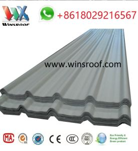 UPVC Roofing Tile-ASA UPVC Surface pictures & photos