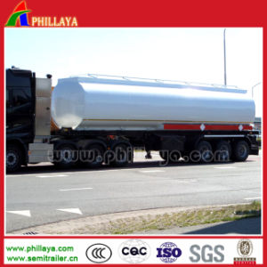 China 3 Axles 35-50cbm Diesel Petrol Fuel Tank Semi Trailer pictures & photos