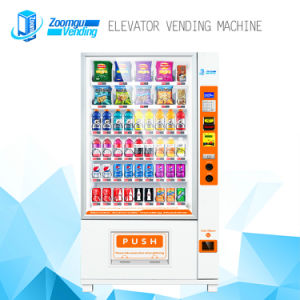 Elevator Vending Machine with Conveyor Belt for Fragile Glass Bottles 9g pictures & photos