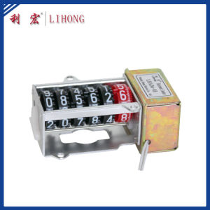 6 Wheels High Anti-Magnetic Stepper Motor Counter, Electricity Meter Counter (LHAD6-03) pictures & photos