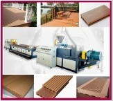 PE/PP WPC Production Line for Outdoor Decoration pictures & photos