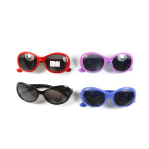 Hot Selling Children Pattern Frame Plastic Sunglasses pictures & photos