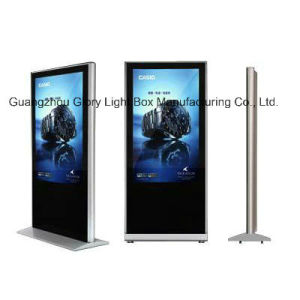 "Air Port or Train Station 55"" Advertising Player Totem Free Standing pictures & photos"