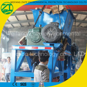 Tire/Foam/Plastic/Wood/Medical Waste/Kitchen Waste/Municipal Waste/Living Garbage/Single Shaft Shredder pictures & photos