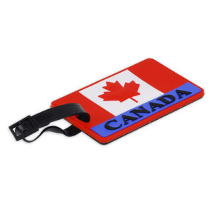 Canada Maple Leaf Silicon Luggage Tag pictures & photos