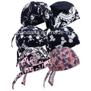 China Factory OEM Produce Customized Logo Printed Cotton Bicycle Adjustable Bike Headband pictures & photos