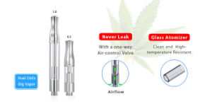 2017 Newest 0.5/1.0ml Cbd Oil Glass Atomizer for Vape Pen pictures & photos