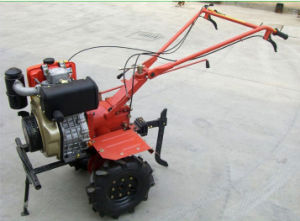 Diesel 10HP Engine Powered Tiller/Cultivation pictures & photos