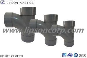 PVC Pipes Branch Tee Fittings ASTM A312 Uns S31254 Pipe Fitting pictures & photos