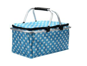 Foldable Insulated and Thermal Picnic Cooler Basket (MS3137) pictures & photos